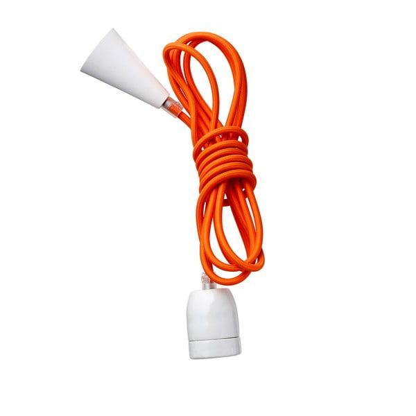 Materiałowy kabel-lampa Kit Naranja