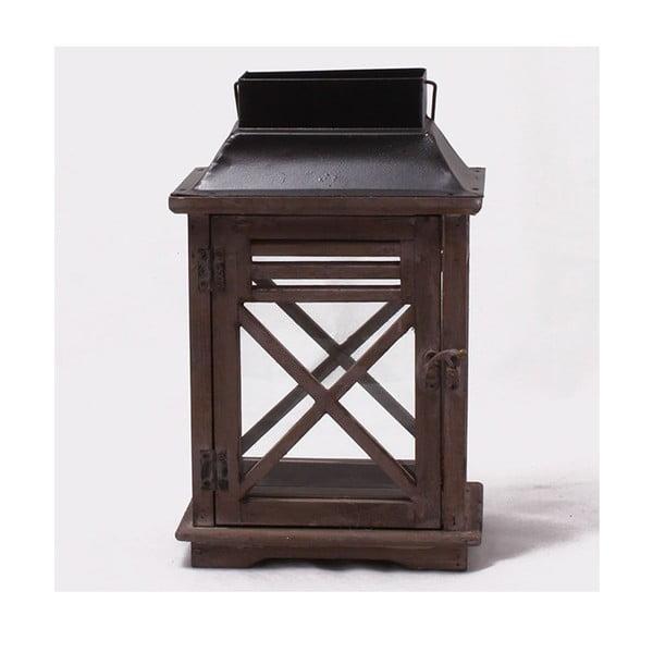 Drewniany lampion Rustic