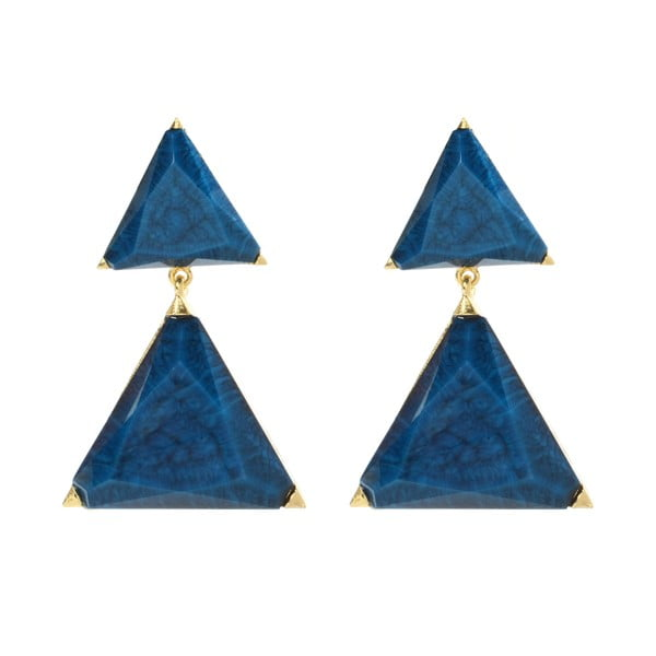 Kolczyki Bermuda Blue Lapis