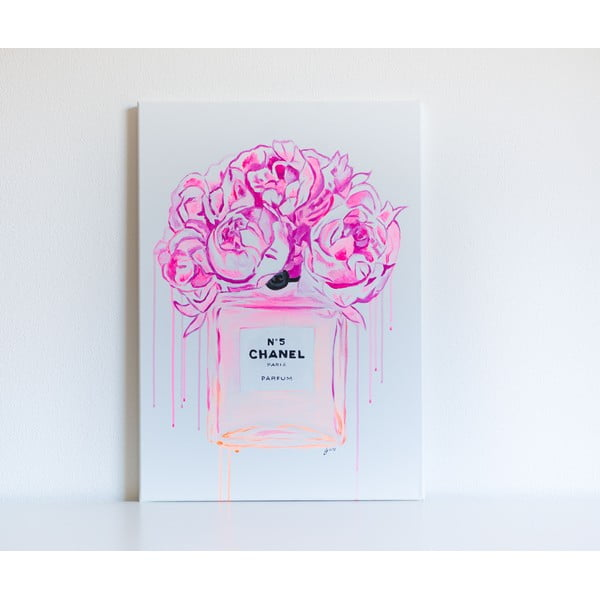 Obraz Chanel Peonies, 50x70 cm