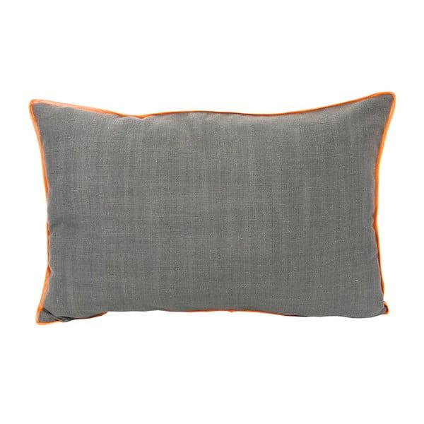 Poduszka z pomarańczową lamówką 40x60 cm