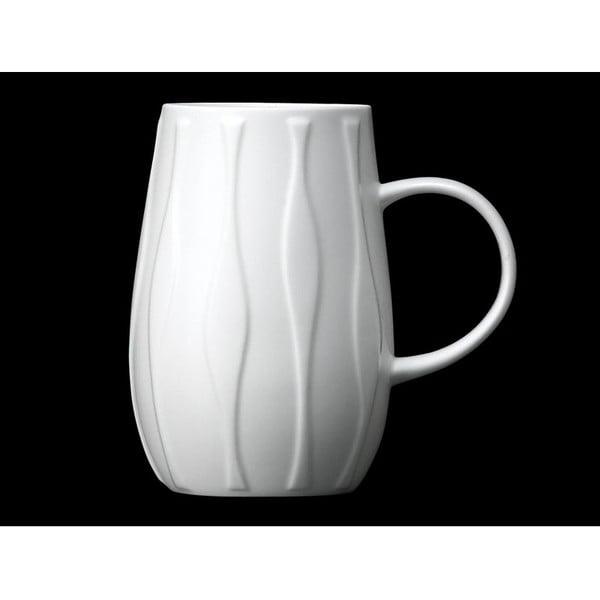 Kubek z angielskiej porcelany Droplet Wave