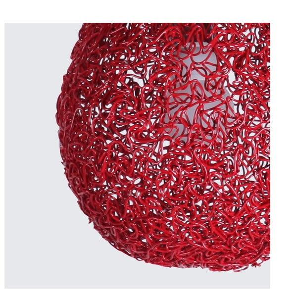 Lampa sufitowa Lampion, czerwona