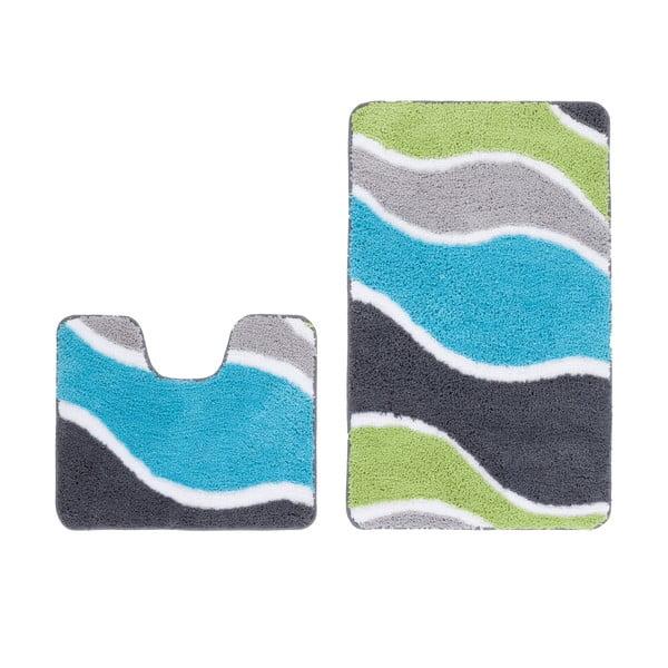 Zestaw 2 dywaników łazienkowych z wcięciem Lift Aqua