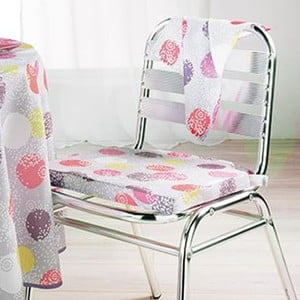 Poduszka na krzesło Lulu Dots, 40x40 cm
