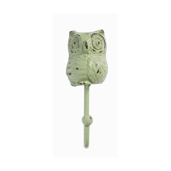 Wieszak Owl, zielony