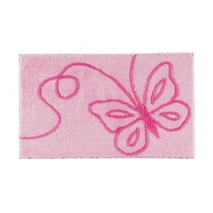 Dywanik łazienkowy Patara Pink, 60x100 cm