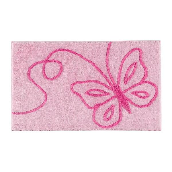 Dywanik łazienkowy Patara Pink, 70x120 cm
