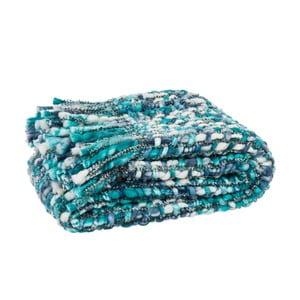 Pled Fringes Blue, 125x150 cm