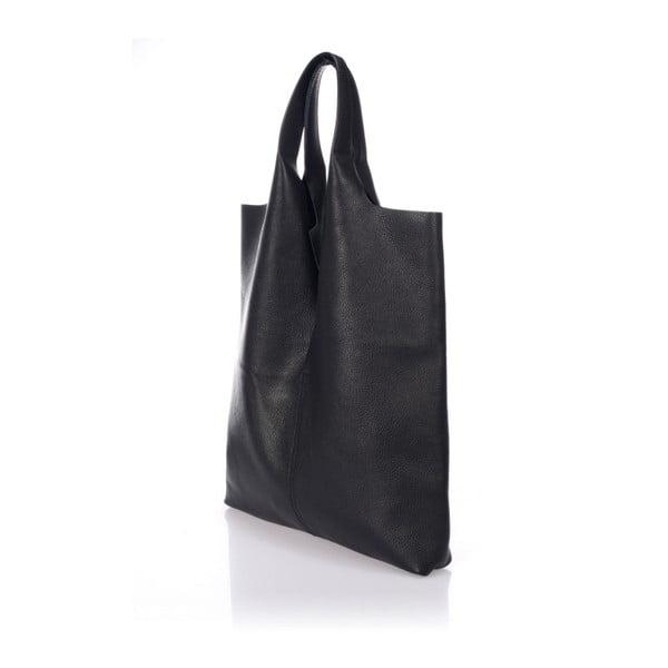 Czarna torebka skórzana Giulia Massari Laurette