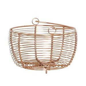 Koszyk metalowy Handle Copper