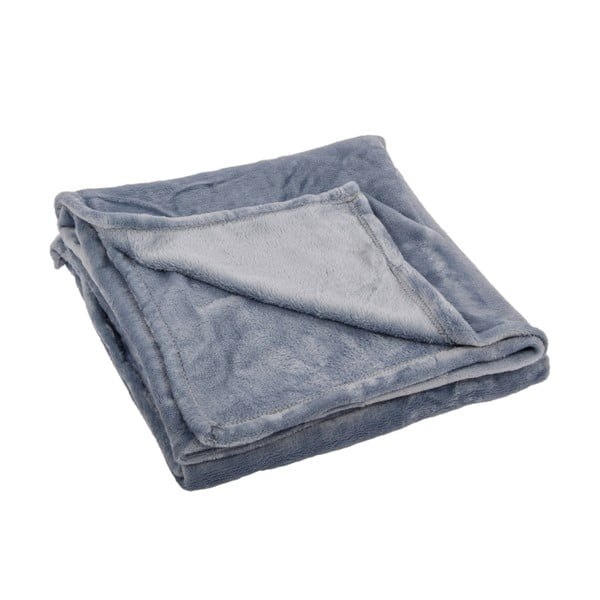 Pled Toison Silver Blue, 125x150 cm