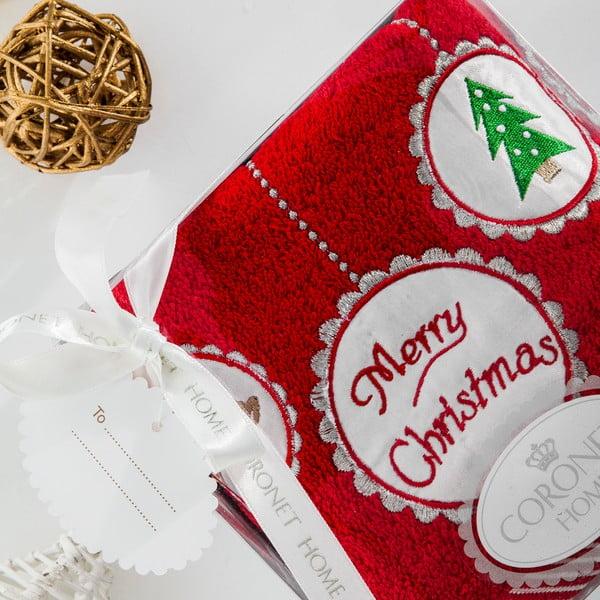 Ręcznik w opakowaniu podarunkowym Christmas V1, 50x90 cm