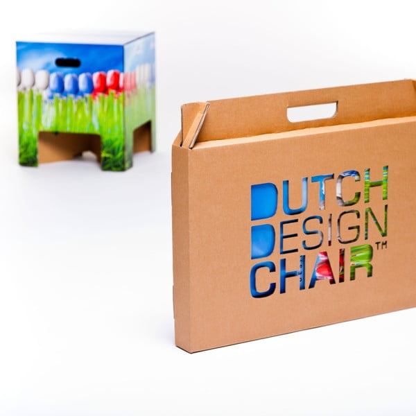 Taboret Dutch Design Chair World Tulips