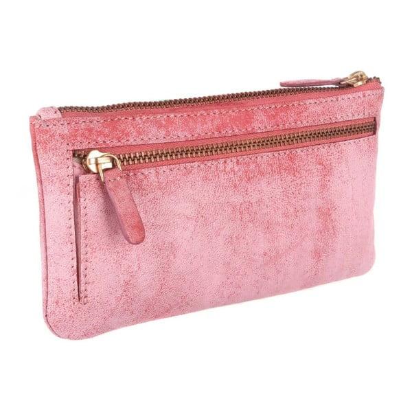 Skórzany portfel Uma Cloudy Pink