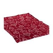 Czerwony obrus Dakls Festive Gift, 60x60 cm