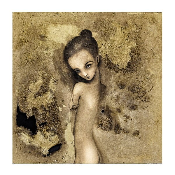 Plakat autorski: Léna Brauner Podpalaczka, 40x40 cm
