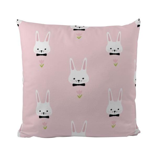 Poduszka   Pink Bunnies, 50x50 cm