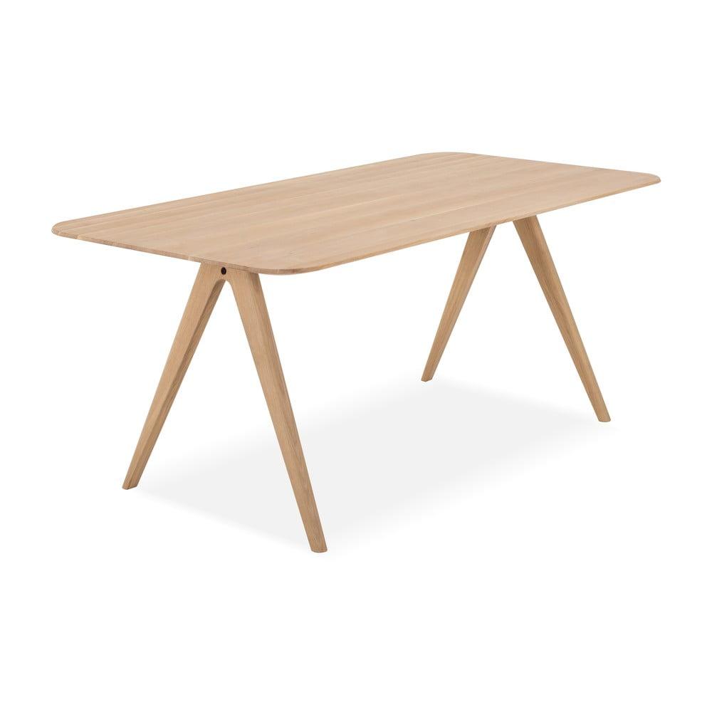 Stół z drewna dębowego Gazzda Ava, 180 x 90 cm