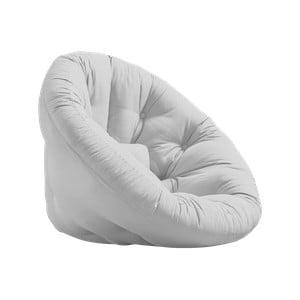 Fotel rozkładany Karup Design Nido Light Grey