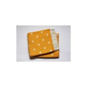 Koc Sevilla Plaid Yellow, 140x180 cm