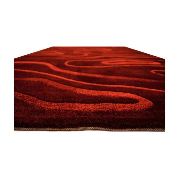 Dywan Phoenix 140x200 cm, czerwony