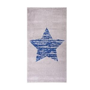 Niebieski dywan dziecięcy Nattiot Lucero, 80x150 cm