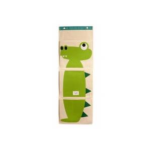 Organizer wiszący, do powieszenia na ścianie Sprouts, z krokodylem