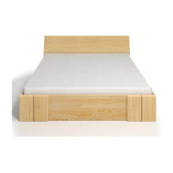 Łóżko 2-osobowe z drewna sosnowego z szufladą SKANDICA Vestre Maxi, 180x200 cm