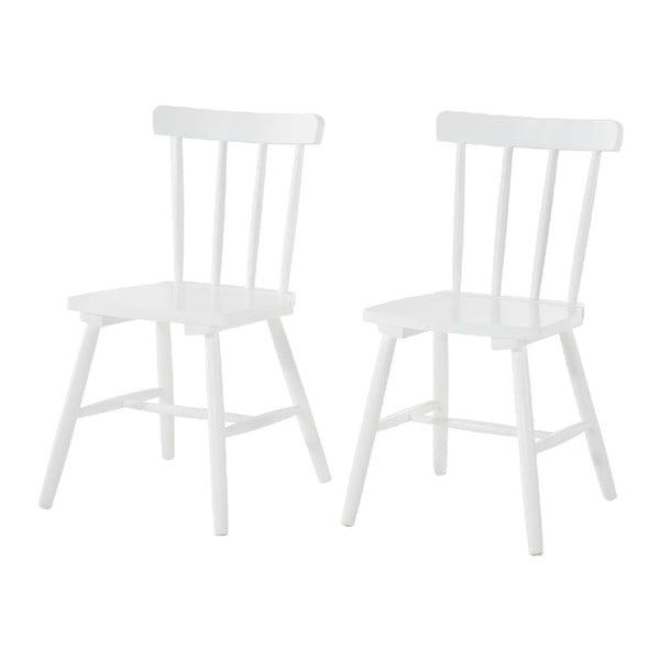 Zestaw 2 krzeseł Kaos White