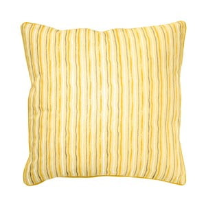 Żółta poduszka Ragged Rose Polly