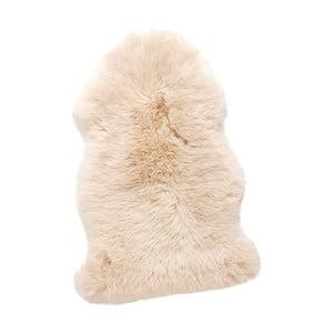 Biała naturalna skóra owcza Hübsch Mogens