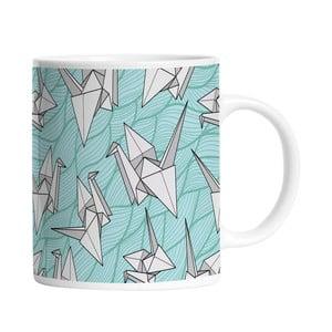 Ceramiczny kubek Bird Origami, 330 ml