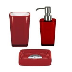 Zestaw akcesoriów łazienkowych Easy Red