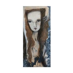 Plakat autorski: Léna Brauner Agnes, 30x60 cm