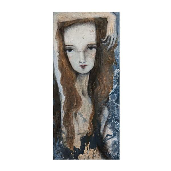 Plakat autorski: Léna Brauner Agnes, 60x121 cm