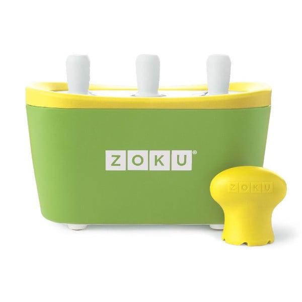 Zielona maszynka do lodów Zoku Quick Pop