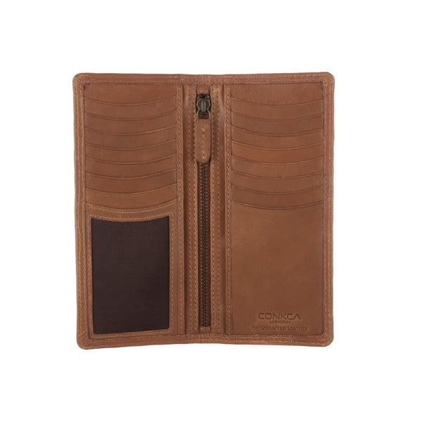 Skórzany portfel Hamilton Chestnut