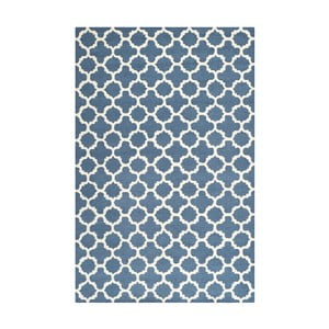 Dywan Bessa 121x182 cm, niebieski