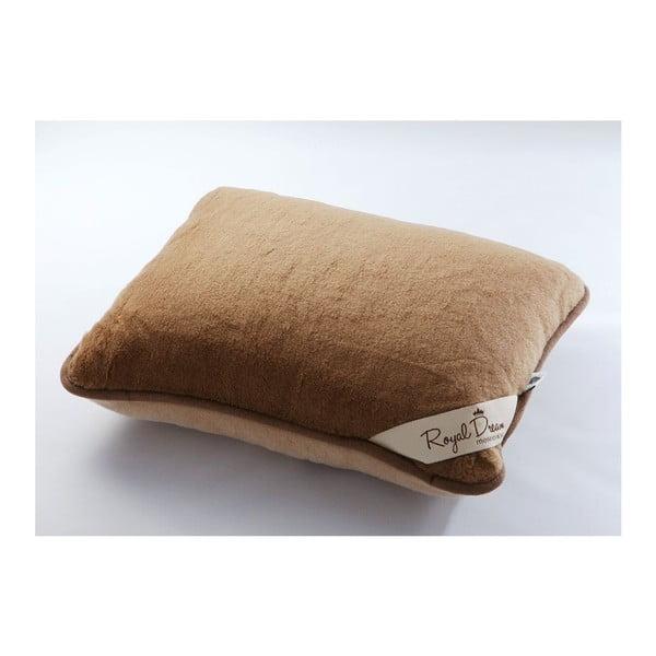 Poduszka   wełniana Royal Dream Camel, 50x60 cm