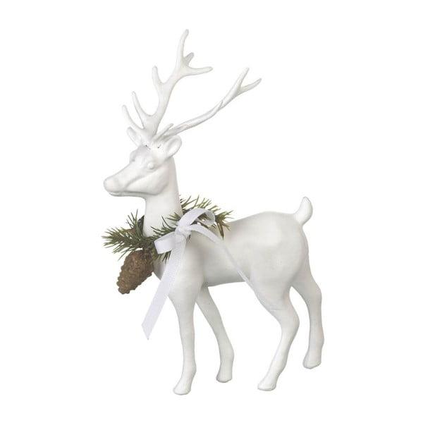 Dekoracja Reindeer White, 20x14x6,5 cm