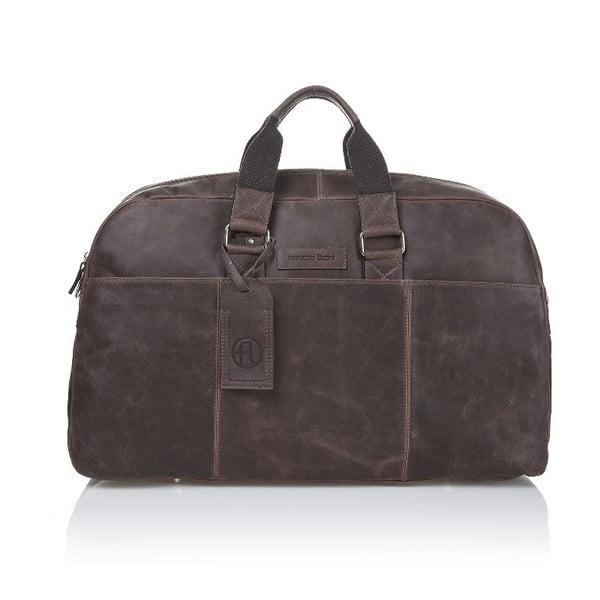 Męska torba skórzana Ferruccio Laconi 101 Brown