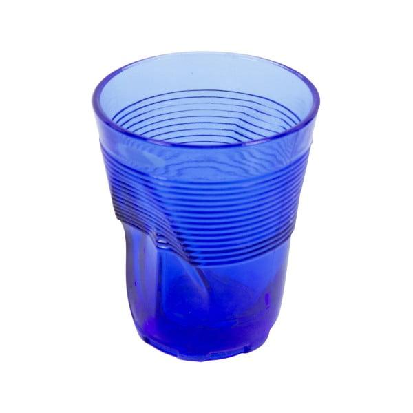 Zestaw 6 niebieskich szklanek Kaleidos, 360ml