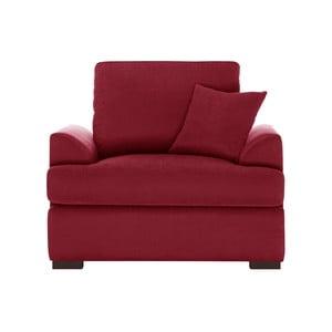 Czerwony fotel Jalouse Maison Irina