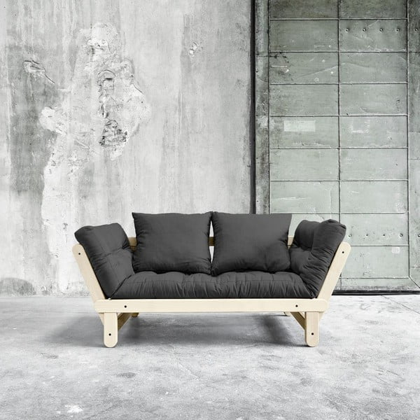 Sofa rozkładana Beat Natural/Dark