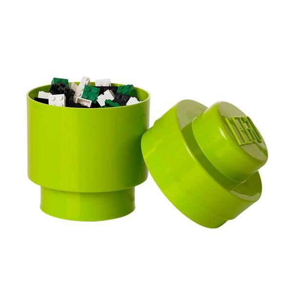 Biały okrągły pojemnik LEGO®