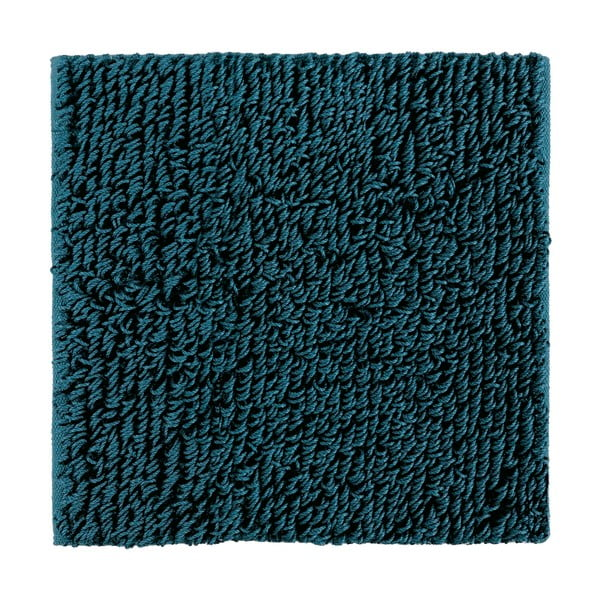 Dywanik łazienkowy Talin 60x60 cm, ciemnoturkusowy