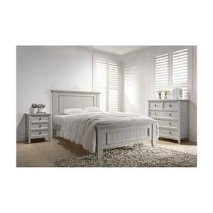 Łóżko 2-osobowe VIDA Living Mila Panel, 198x150 cm