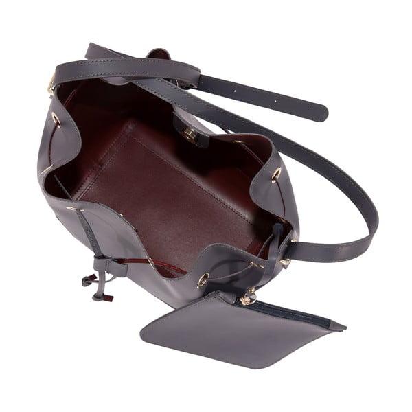 Skórzana torebka Andrea Cardone 3027 Grey