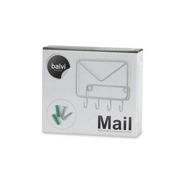 Wieszak na klucze i koperty Balvi  Mail